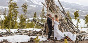 Photos: Colorado elopement with Breckenridge Bourbon in hand
