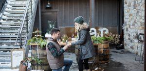 Photos: An engagement at the Breckenridge Distillery