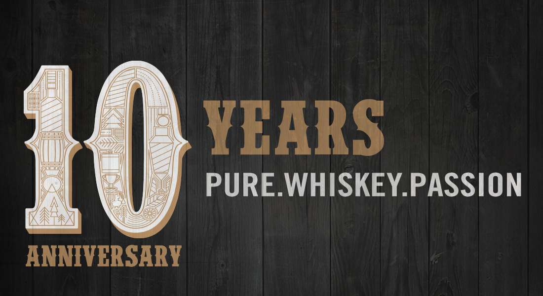 Breckenridge Distillery Celebrates 10 Years of PURE. WHISKEY. PASSION