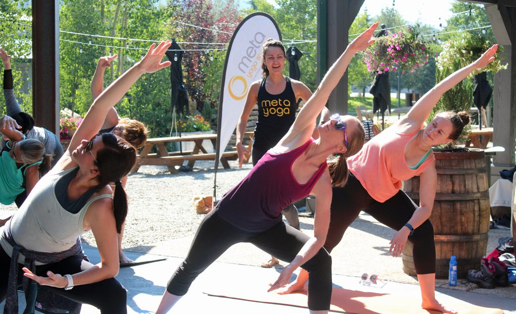 yoga, Breckenridge distillery