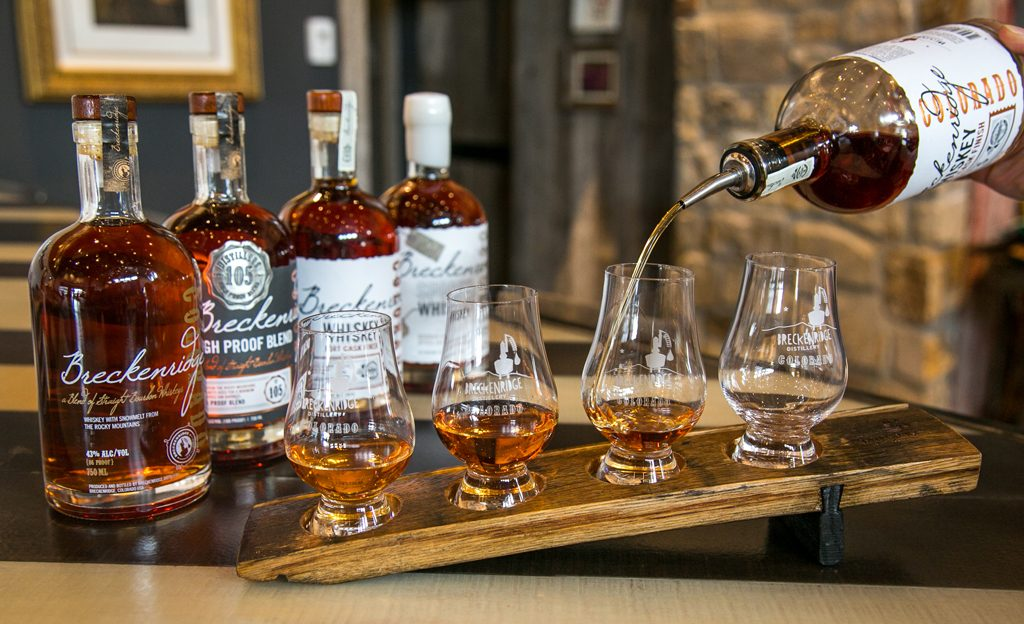 whiskey, bourbon, Breckenridge distillery