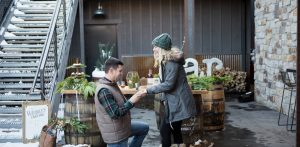 Photos: An engagement at the Breckenridge Distillery