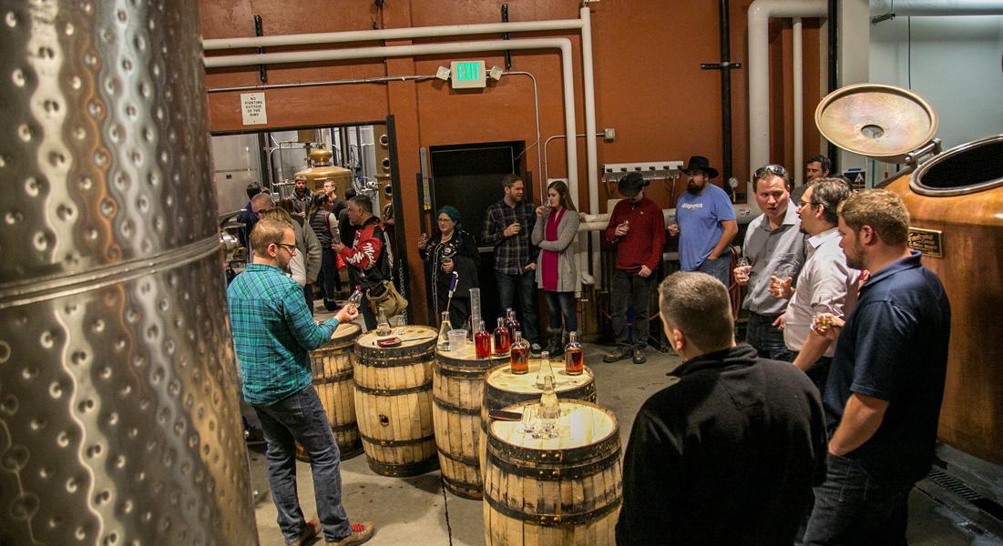 Flaviar Visits Breck Distillery for the Ultimate Blending Battle