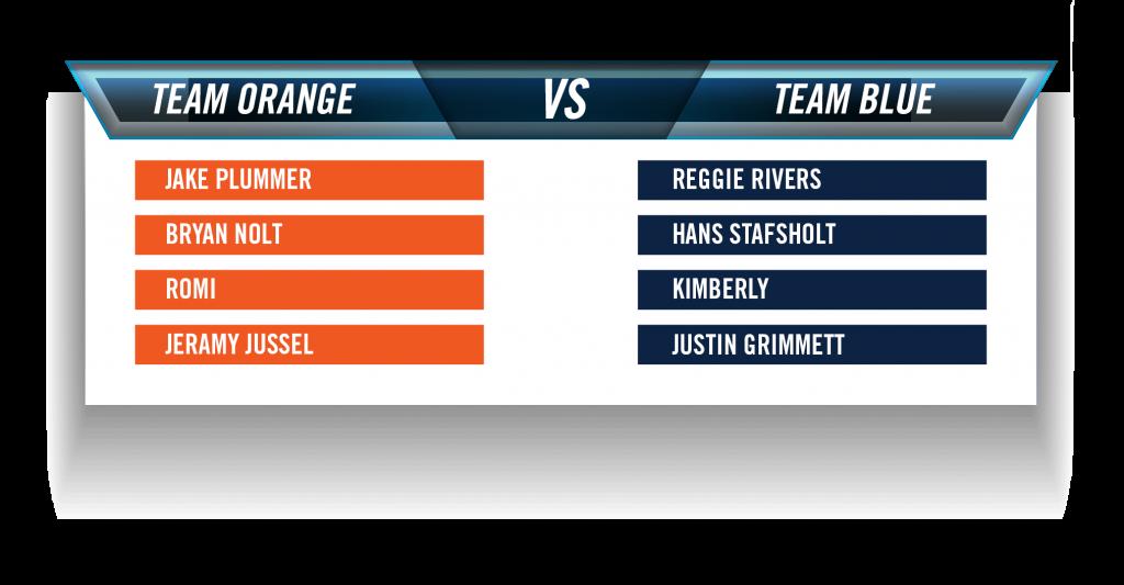 Broncos Blend Team Orange and Team Blue