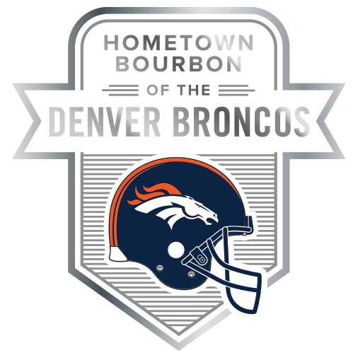 Hometown Bourbon of the Denver Broncos Logo